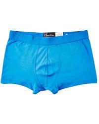 CALVIN KLEIN 205W39NYC - Underwear Infinite Cotton Trunk Navy - Lyst