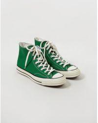 9118e9f5dec9 Converse Chuck Taylor All Star Leather Sneaker in White for Men ...