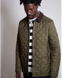 Barbour - Heritage Liddesdale Quilted Jacket Green - Lyst