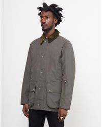 Barbour - Heritage Bale Jacket Green - Lyst