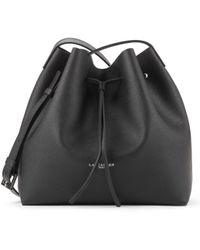 Lancaster - Pur Saffiano Large Bucket Bag Black - Lyst