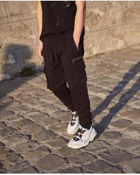 The Kooples - Japanese Denim Jeans Inspired By Cargo-style joggers - Lyst