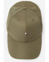 228d4f0d5f3 Lyst - The Kooples Black Cotton Cap With Embroidered Insignia in ...