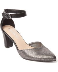 The Limited - Shawna Ankle Strap Block Heel - Lyst