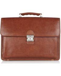 Castelijn & Beerens Realtà Laptop Bag 15.4 Inch - Brown
