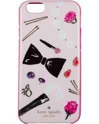 Kate Spade - Iphone 6 Case Vanity Illustration - Lyst