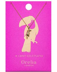 Orelia - Toucan Ditsy Necklace - Lyst