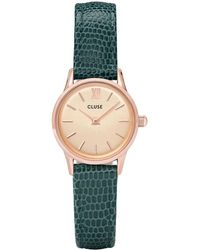 Cluse - Minuit Rose Gold Champagne - Lyst