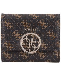 Guess - Kamryn Slg Small Trifold - Lyst