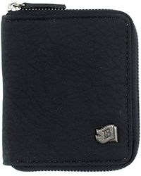 Icon Brand - Wallet Big Black - Lyst