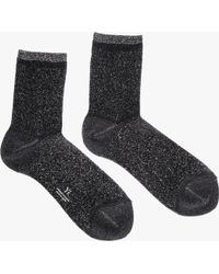 Y's Yohji Yamamoto | Thin Lame Socks | Lyst