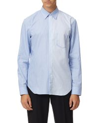 Maison Margiela - Slim Fit Classic Stripe Shirt - Lyst