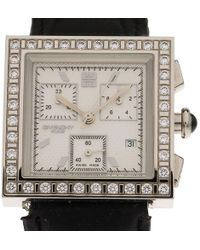 Givenchy - Stainless Steel Diamonds Apsaras Men's Wristwatch 32mm - Lyst