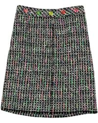 Marc Jacobs - Multicolored Tweed Pencil Skirt L - Lyst