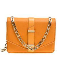 Victoria Beckham - Leather Mini Chain Shoulder Bag - Lyst