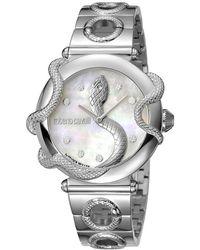 Roberto Cavalli - Mop Stainless Steel Rv2l020m0041 Women's Wristwatch 36mm - Lyst