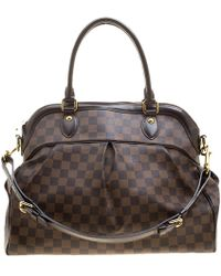 Lyst - Louis Vuitton Parioli Pm Tote Bag Damier Canvas N51123 in Brown a781e168899db