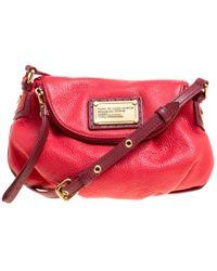 Marc By Marc Jacobs - Leather Classic Q Natasha Crossbody Bag - Lyst