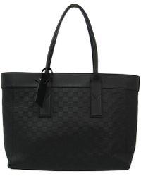 Louis Vuitton - Onyx Damier Infini Leather Cabas Voyage Tote - Lyst