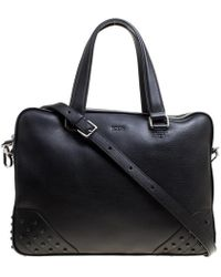 Tod's - Leather Briefcase - Lyst