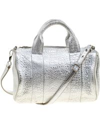 Alexander Wang - Pebbled Leather Rocco Duffel Bag - Lyst