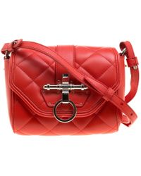 Givenchy - Quilted Leather Small Obsedia Crossbody Bag - Lyst