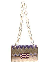 Missoni - Fabric Chain Shoulder Bag - Lyst