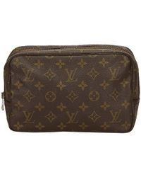 Louis Vuitton - Monogram Canvas Trousse Toilette 23 Cosmetic Case - Lyst