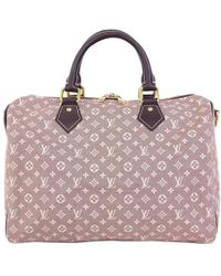 Lyst - Louis Vuitton Brown Canvas Leather Idylle Neverfull Mm Bag in ... 920a35454d