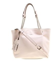 29d275770c Tod's - Leather Flower Chain Tote - Lyst