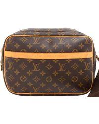 Lyst - Louis Vuitton Monogram Glace Bobby Messenger Bag Brown in ... b9c2b759c1