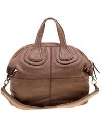 c030512245 Givenchy - Light Leather Medium Nightingale Tote - Lyst