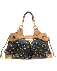 Louis Vuitton - Multicolor Monogram Canvas Ursula Satchel - Lyst