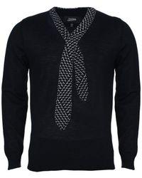Jean Paul Gaultier - Mens Knit Tie Jumper S - Lyst