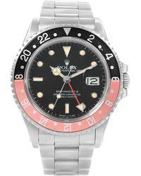Rolex - Stainless Steel Gmt Master Ii Vintage Men's Wristwatch 40mm - Lyst