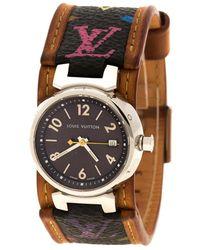 Louis Vuitton - Q1211 Tambour Women's Wristwatch - Lyst