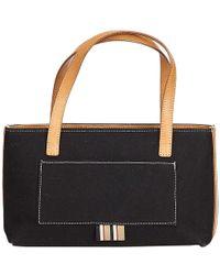 9d2ab6b09fb1 Lyst - Burberry Ashby Medium Canvas Bucket Bag in Black