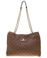 Marc Jacobs - Quilted Leather Juliette Chain Handle Tote - Lyst