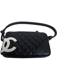 0fa399cf0af5 Chanel - Quilted Leather Ligne Cambon Pochette Clutch Bag - Lyst