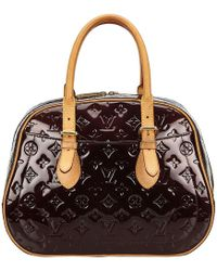 Louis Vuitton - Amarante Monogram Vernis Summit Drive Bag - Lyst