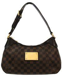 3e66529efb42 Louis Vuitton Monogram Canvas Thames Pm Bag in Brown - Lyst