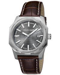 Roberto Cavalli - Stainless Steel Rv1g025l0011 Men's Wristwatch 40mm - Lyst