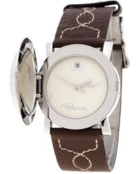 Roberto Cavalli - White Stainless Steel Firenze Women's Wristwatch 36 Mm - Lyst