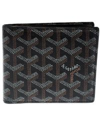 Goyard - Brown/white Coated Canvas Victoire Bifold Wallet - Lyst