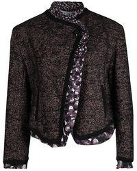 Jean Paul Gaultier - Femme Textured Wool Blend Jacket M - Lyst
