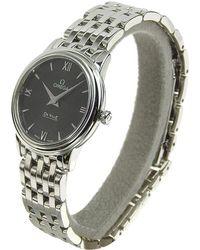 Omega - Stainless Steel De Ville Prestige Women's Wristwatch 27.4mm - Lyst