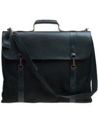 Louis Vuitton - Taiga Leather Large Gibeciere Garment Travel Bag - Lyst