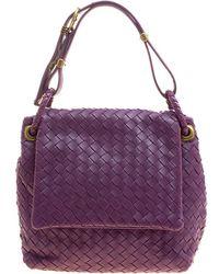 c543ca2c43 Lyst - Bottega Veneta Women s Pink Leather Shoulder Bag in Pink