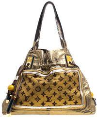 Louis Vuitton - Monogram Lurex Limited Edition Sunbird Bag - Lyst