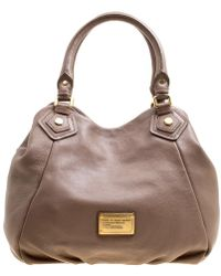 Marc By Marc Jacobs - Brown Leather Classic Q Francesca Top Handle Bag - Lyst